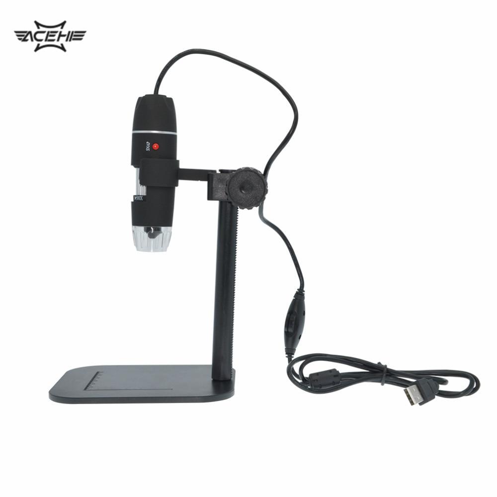 Microscop USBMicroscop Practical Electronics 5MP USB 8 LED Digital font b Camera b font Microscope Endoscope