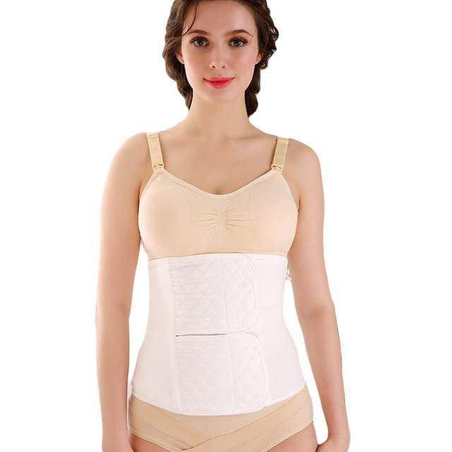 35e28f3a78 Cotton Postpartum Belly Belt Girdle C Section Recovery Belt for Women Postpartum  Corset Belt Belly Band abdominal binder Support