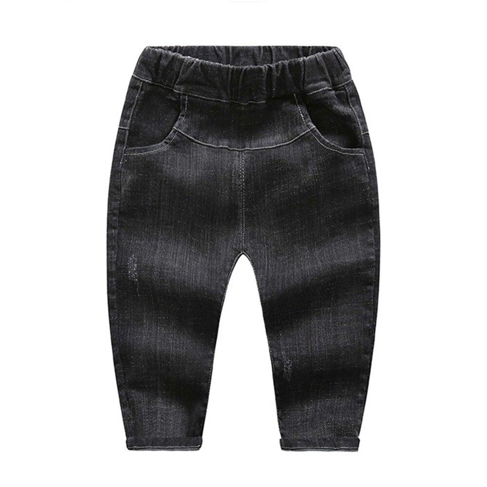 1-6 T Todder Jeans Frühling Herbst Baby Jungen Mädchen Baumwolle Stretchy Denim Hosen Kinder Lange Hosen Bebe Kleidung Kinder Kleidung
