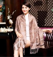 Luxury and top quality brand of women pashmina tassels scarf new design lady scarves wholesales scarf for christmas gifts