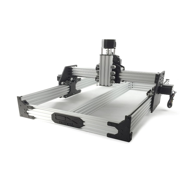 A Openbuilds OX CNC router machine CNC MECHANICAL KIT with 4 pcs * Nema 23 stepper motor ooznest OX CNC Machine Fast ship ox cnc mechanical kit with 4pcs nema stepper motor for diy desktop cnc router wood engrave machine 1000 1000mm