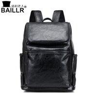 2017 New Design High Quality Leather Men S Vintage Rivet Backpacks School Back Pack Casual Men