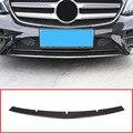 Углеродное волокно ABS пластик Передняя Нижняя решетка бампер Верхняя Крышка Накладка для Mercedes Benz W213 E Class 2017-2019
