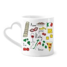 Итальянский пейзаж Пизанская башня кофейные кружки керамика