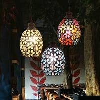 Eusolis Vintage Glazen Pendant Lights Nordic Suspension Luminaire Restaurant Hanglampen Voor Woonkamer Lamparas Vintage