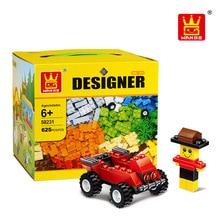 Bela Wange 58231 Classic DIY 625 Pcs Classic Creative Building Blocks Bricks Game Educational Toys for children Decool Lepin