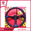 2015 Hot sale Steering Wheel 350mm MOMO Deep Corn Drifting Steering Wheel  RS-STW002