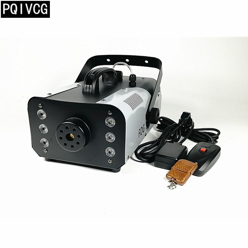 900w Fog Machine led rgb smoke machine remote control wire control stage effect