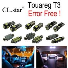 22 шт. Х canbus Ошибка Бесплатно для Volkswagen Touareg T3 LED Внутренних Свет Комплект Упаковки (2010 +)