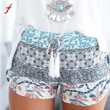 Brand Fashion Women Sexy Hot shorts Summer Casual Shorts High Waist Hot Shorts Printed Sexy Feminino shorts Exercise Trousers