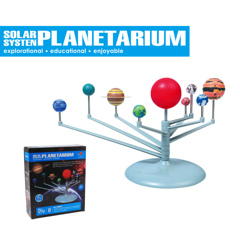 DIY The Solar System Planets Planetarium Model Building ...