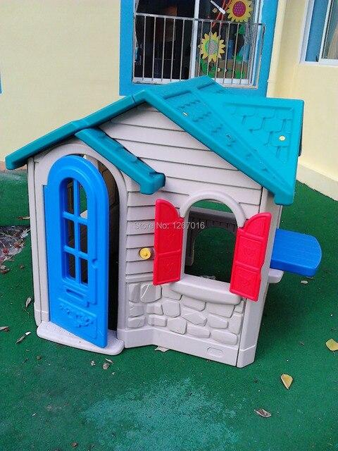 Fadeles Kids Plastic Playhouse Toy House Playground Environmental Friendly
