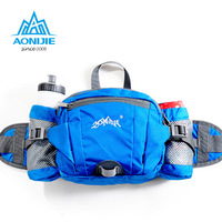 AONIJIE Multifunction Nylon Sport Phone Waist Bags Outdoor Running Hiking Cycling Bicycle Big Storage Money Pouch