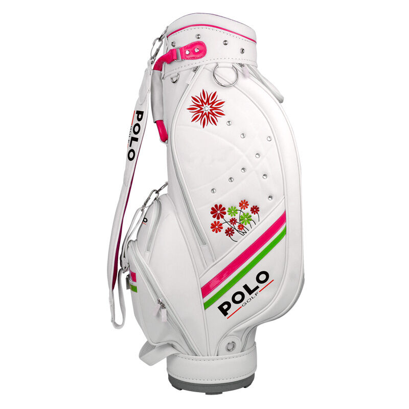 Polo Womens Golf Bag Standard Ball Package Pu Bag Woman