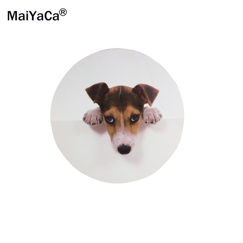 MaiYaCa Lindo Rottweiler Cachorro lindo perro Ronda 200 * 200 * 2mm - Periféricos de la computadora - foto 3