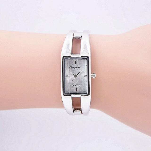 Fashion brand women fashion luxury ladies stainless steel watch women Dress Quar
