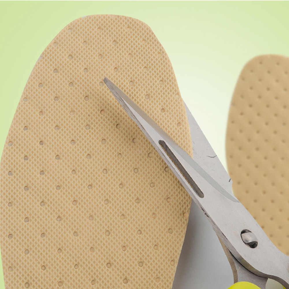 1 çift Odun Hamuru Ayakkabı Astarı Ekler Ayakkabı Deodorantı Nefes Ter emici Astarı Yaz Ince Deodorant Tabanlık