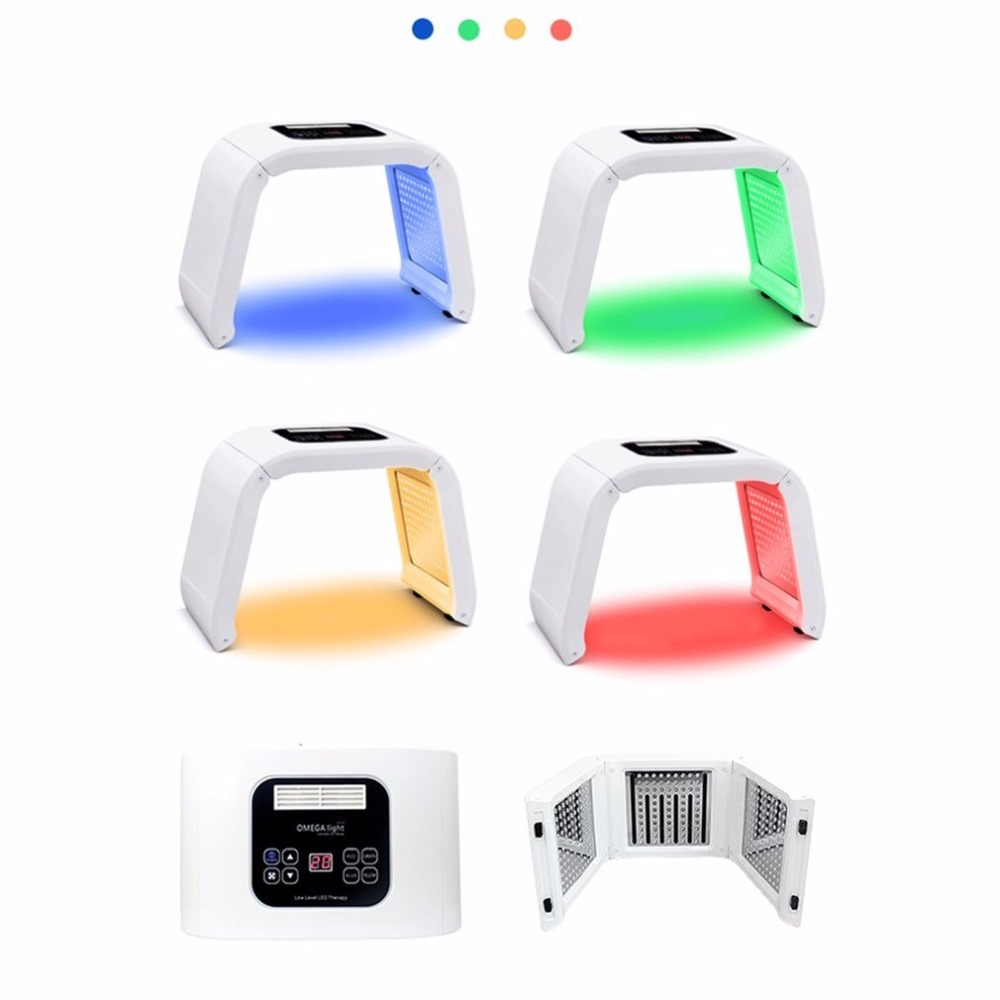 4 Colors Facial Skin Care Device Beauty Instrument Electric Face Tightening Whitening Lifting Phototherapy Spectrometer PDT/LED4 Colors Facial Skin Care Device Beauty Instrument Electric Face Tightening Whitening Lifting Phototherapy Spectrometer PDT/LED