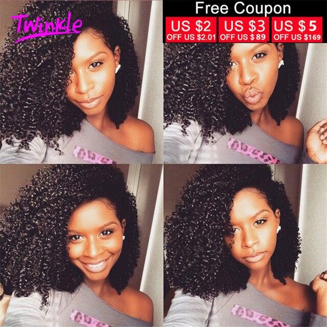7A Peruvian Kinky Curly Virgin Hair 4Bundles Peruvian Afro Kinky Curly Virgin Hair Peruvian Virgin Hair Human Hair Weave Bundles