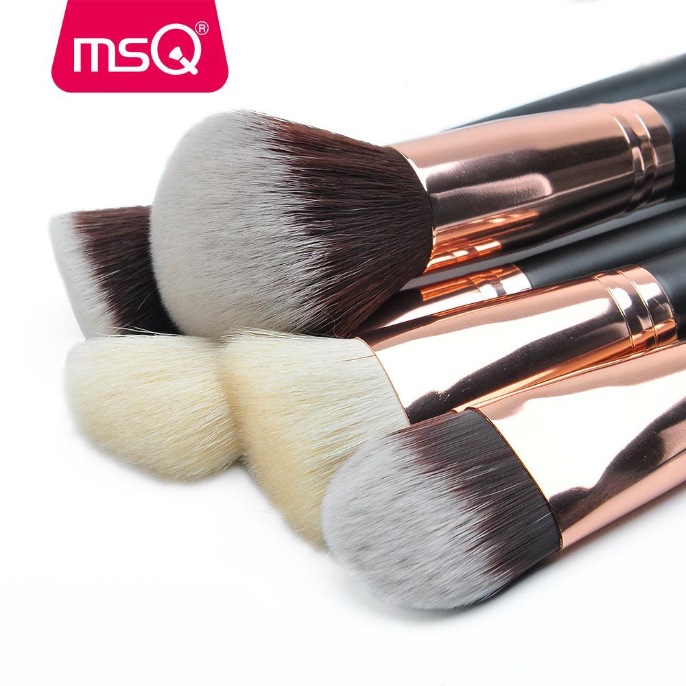 MSQ Макияж Щеткасы Pro 15pcs Rose Gold Макияж - Макияж - фото 3