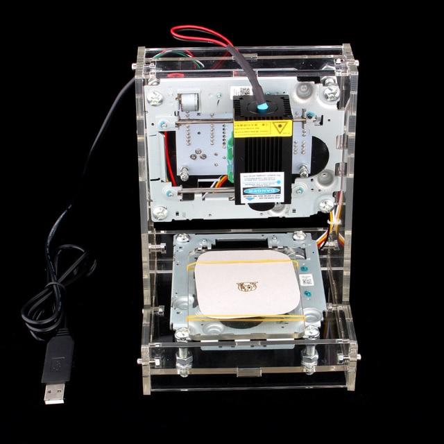 Diy мини USB лазерная 300 МВт гравировка Engraver резьба логотип картина маркировки принтер быстрая доставка