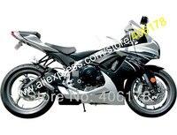 Лидер продаж, K11 для Suzuki GSXR600 GXS R 600 GSXR 600 750 2011 2012 2015 2016 GSXR750 черные белые Обтекатели Kit (литья под давлением)