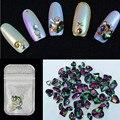 10 unids/lote Crystal Rhinestone Del Brillo Decoración de DIY nueva llegada de uñas piedras joyería profesional suministros de uñas
