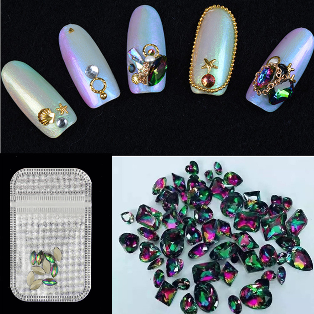 10pcs/ Lot Crystal Glitter Rhinestone DIY Decoration New