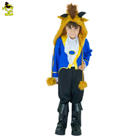 2017 Kids Beauty And The Beast Cosplay Boys Costumes Prince Adam Party Cosplay Clothes Adam Men