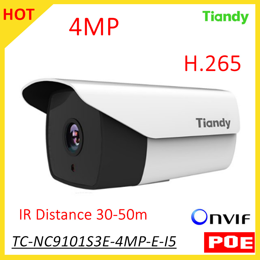 English Version Tiandy IP Camera TC-NC9101S3E-4MP-E-I5 IR50M 1080P 4MP Outdoor Network camera security camera Support POE Onvif cambridge young learners english flyers 5 answer booklet