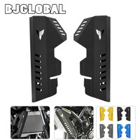 BJGLOBAL Motorcycle CNC Radiator Water Coolant Resevoir Tank Side Cover For Yamaha MT07 FZ 07 2014 2017