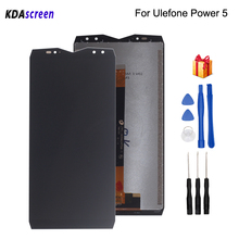 Original For Ulefone Power 5 LCD Display Touch Screen Digitizer Phone Parts For Ulefone Power Screen LCD Replacement Free Tools original for ulefone power original lcd display touch screen assembly for ulefone power 1920x1080 free tools c05