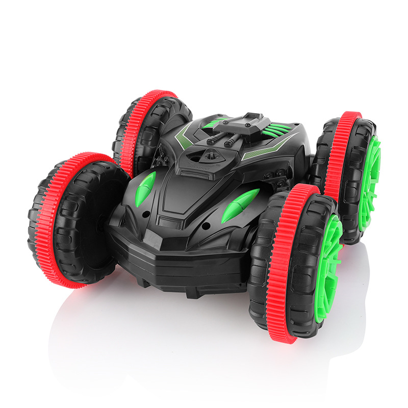 Amphibious 1:18 RC Car Remote Control Toy Stunt Off-road Four-wheel Drive on Water and Land Electric Car Toys For Children