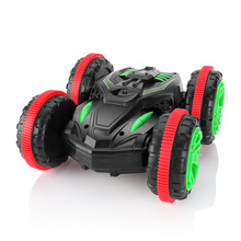 Amphibious 1:18 RC Car Remote Control Toy Stunt Off-road Four-wheel Drive on Water and Land Electric Toys For Children