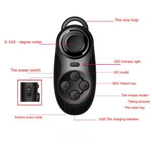 Image 4 - Беспроводной bluetooth контроллер 4 в 1, дистанционный затвор, геймпад для сотовых телефонов, планшетов, мини ПК, ноутбуков, ТВ приставок, для Android / iOS