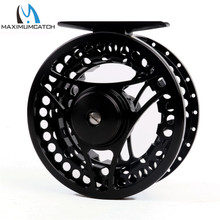 Maximumcatch MC 3/5 weight  Fly Fishing Reel CNC Machine Cut Fly Reel Large Arbour Aluminum Fly Reel