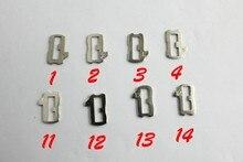 Lengüeta de bloqueo de coche HU66 para VW, placa de fresado interior (ing) de alta calidad, accesorios de reparación de llaves de coche, Total de 200 Uds.
