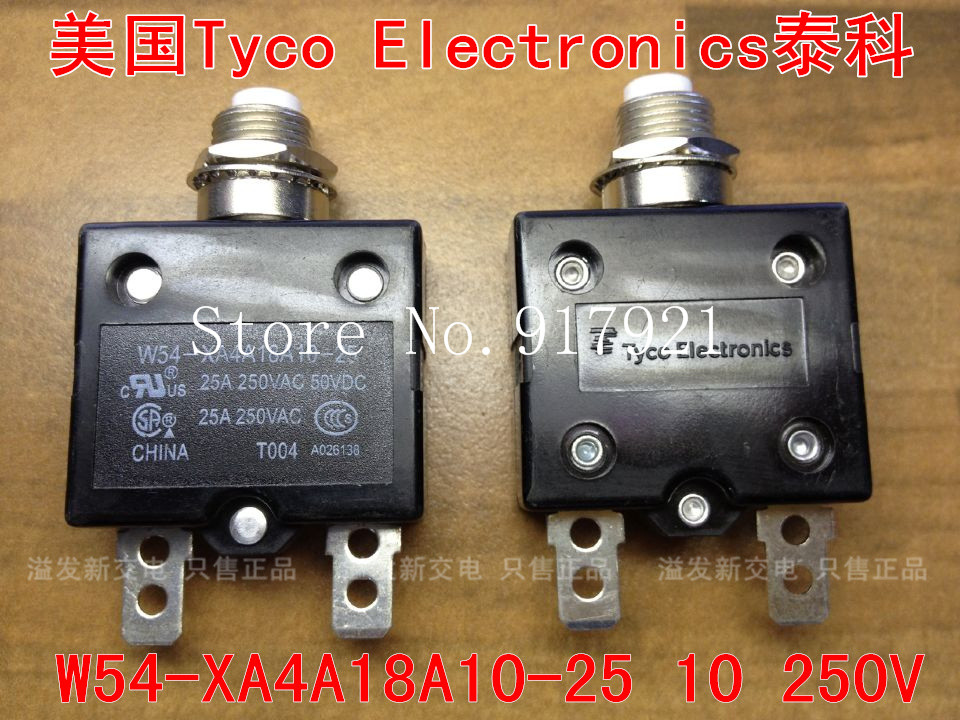 [ZOB] The United States Tyco EIectronics W54-XA4A18A10-25 25A250V equipment Tyco thermal switch --50pcs/lot