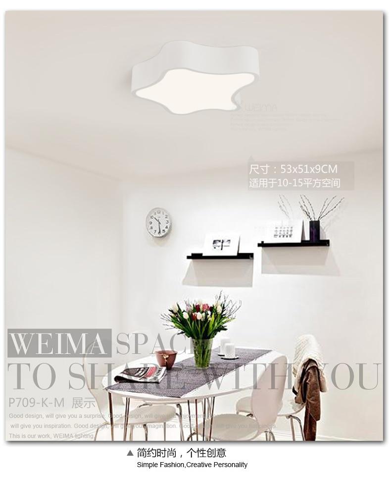 modern led star shape ceiling lighting lamp bedroom modern minimalist personalized restaurant room study lamp black graduation star personalized banner
