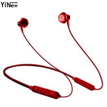 Bluetooth Earphone Wireless Headphone Bluetooth5.0 Waterproof Sport Headsets Bass Stereo earpieces Mic for iPhone Android xiaomi