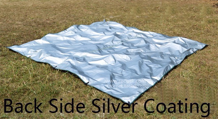 3f ul revestimento de prata anti uv