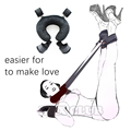 Easy Open Leg Sexy bondage for Couples Fetish Slave Roleplay SM Game Bondage Kit including Neck Leg Spread handcuff sex toys