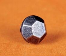 50pc10MM argento antico esagono piatto elementi di fissaggio rivetto Leathercraft borchie Decorative