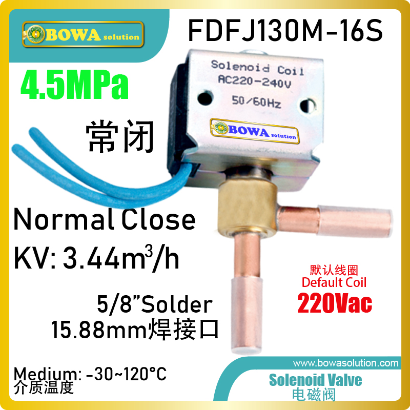 Compact size and low price solenoid valve is great choice for ECO system in freezers or small capacity VRF air conditionersCompact size and low price solenoid valve is great choice for ECO system in freezers or small capacity VRF air conditioners