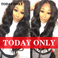 10A Grade Rosa Hair Products Brazilian Virgin Hair Bundle Deals Lace Closure with 4 Bundles Brazilian Body Wave With Closure