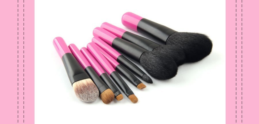 makeup brush set 3.