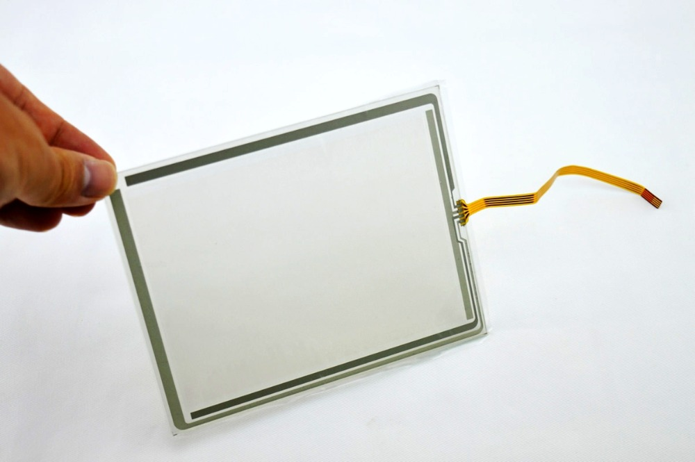 цены Touch screen for AMT9532 4 line 5.7 inch touch screen for AMT 9532, New & in stock