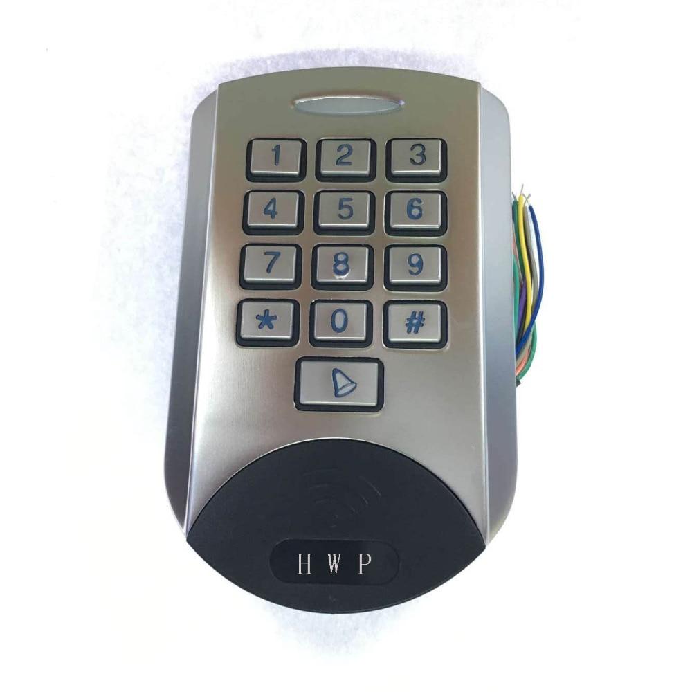 Metal keypad Metal access control Waterproof 125KHz Anti vandal Standalone keypad