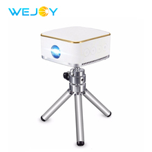 hot deal buy wejoy mini led projector dl-s8+ android 6.1 system pocket portable pico mobile phone projectors dlp beamer wifi bt home theater