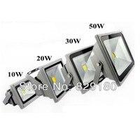 Dc12v 50 W levou holofote 10 W 20 W 30 W LED luzes paisagem quente pure white LED lâmpada de rua